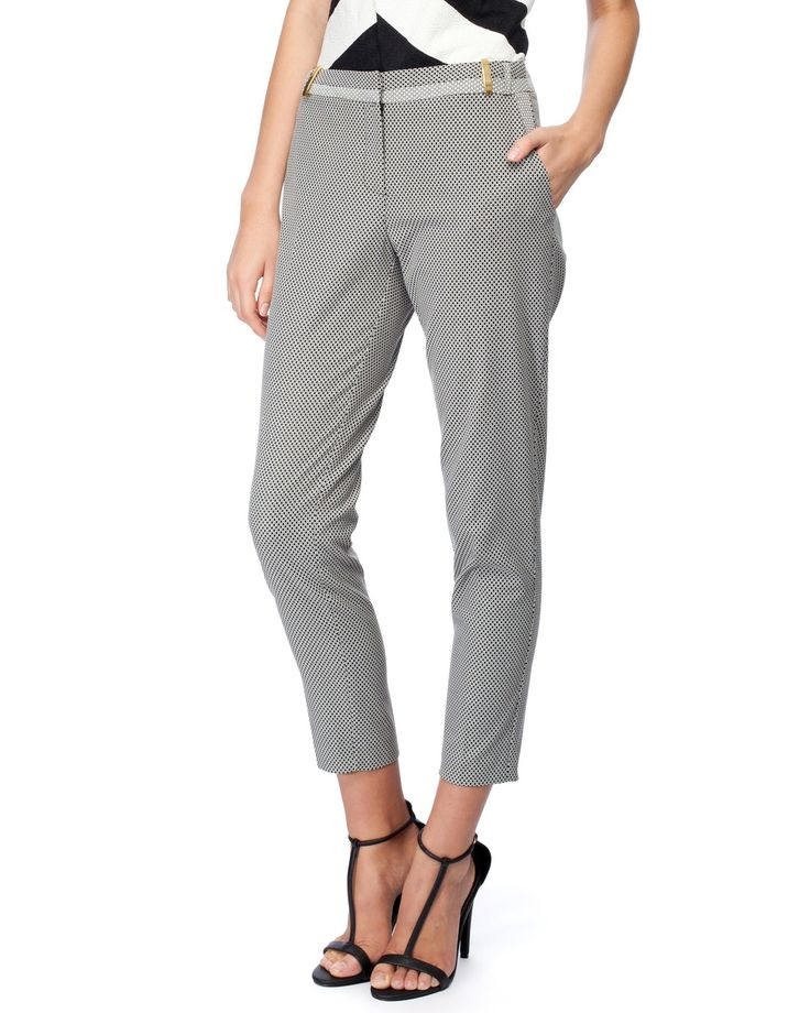 Geo Tailored Trousers