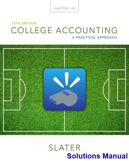 30 best solution manual dowload images on pinterest college accounting a practical approach 13th edition jeffrey slater solutions manual test bank solutions fandeluxe Image collections