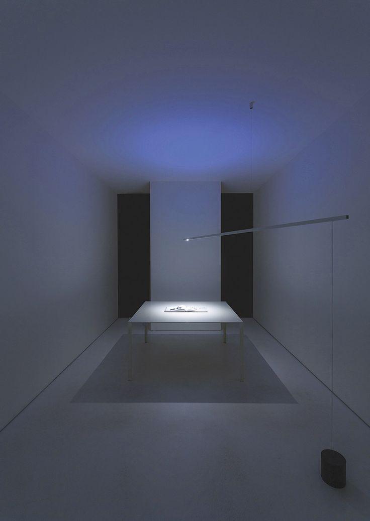 FOSBURY  - Floor and suspension LED lamp