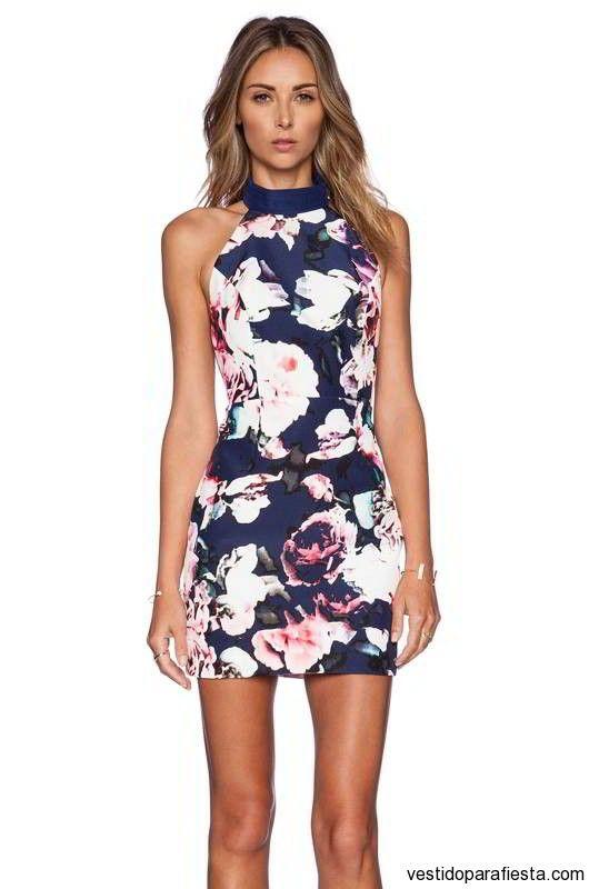 Vestidos floreados cortos de fiesta 2015 – 13 - https://vestidoparafiesta.com/vestidos-floreados-cortos-de-fiesta-2015/vestidos-floreados-cortos-de-fiesta-2015-13/