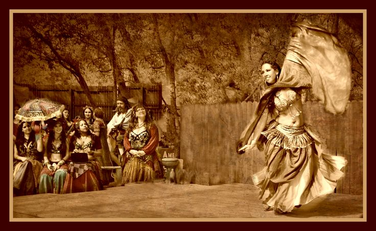 """""""Shelly and The Gypsies.""""  Digital Photography, 20 x 24. Artist: Patty Reeves."""