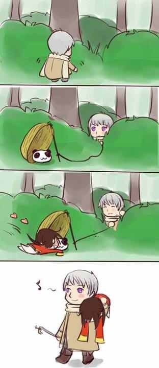 How to catch a wild China. Hetalia A wild Russia appears! Russia uses TRAP! It's SUPER EFFECTIVE!!