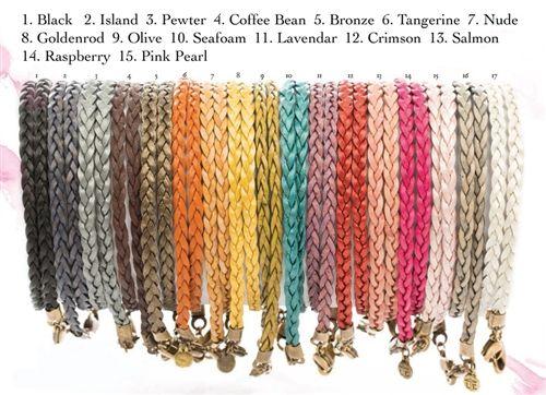 Leather wrap bracelets!