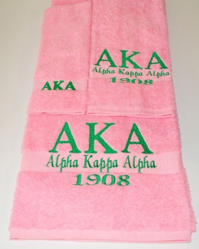 AKA towel set