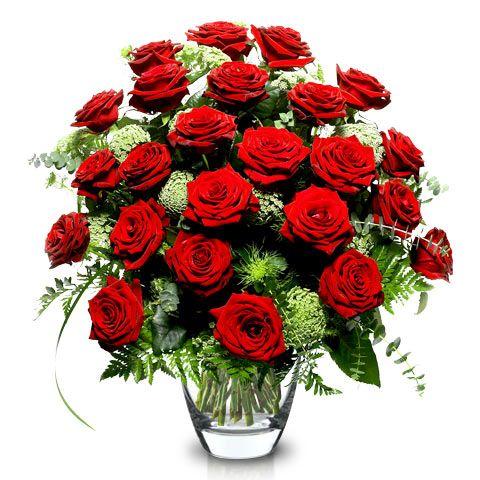 24 Rosas Rojas para centros de bodas