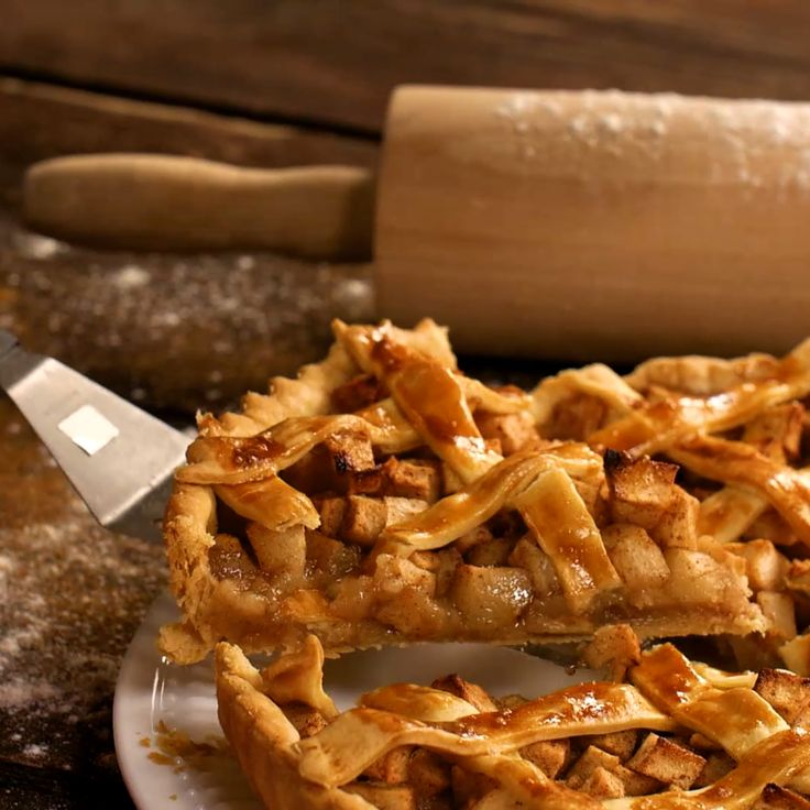 When one apple pie closes, another delicious one opens. Save the recipe on our app! http://link.tastemade.com/HE7m/H1wHe4m2mA