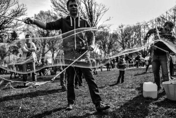 III Dzień Bańki Mydlanej, foto Łukasz Jóźwiak