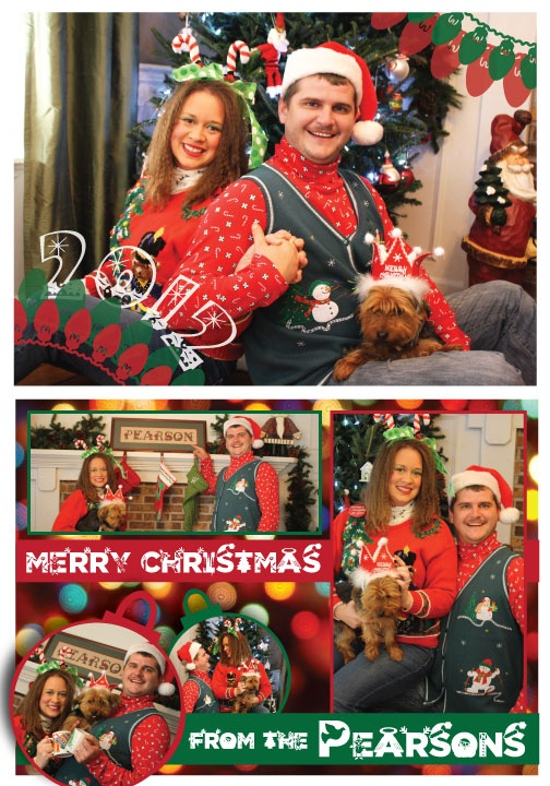 My Favorite Cheesy Christmas Card From 2012 This Photo Shoot And So Much Fun To Create I Love Familys Sense Of Humor