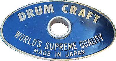 Drum Craft Drum Badge