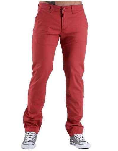 ΝEEΣ ΑΦΙΞΕΙΣ :: Παντελόνι Chino Fit & Slim Maroon - OEM