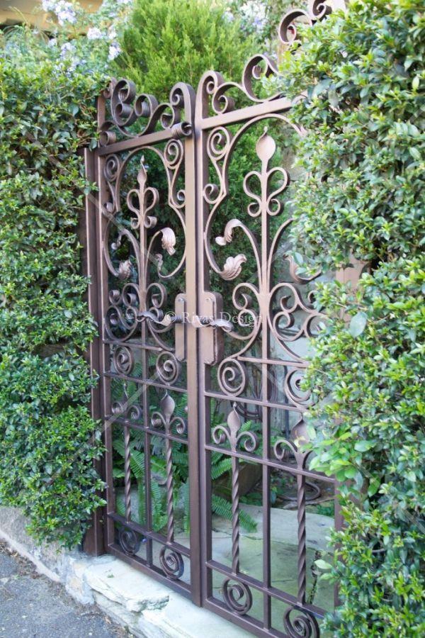 Wrought Iron Gates Wrought Iron Garden Gates Iron Garden Gates