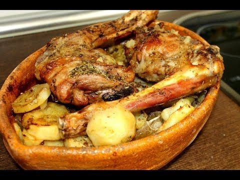 Cabrito asado con patatas ( Facil y espectacular) - YouTube