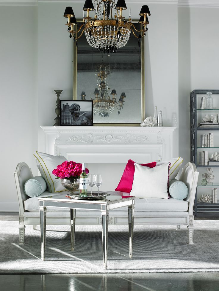 Such a Pretty Home: Pink and White Decor | ZsaZsa Bellagio - Like No Other