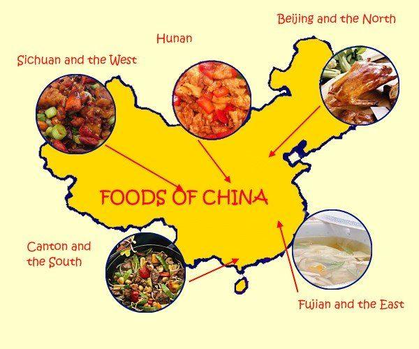 """Tipos de Comida China Tradicional Cocina Pekinesa en el Norte: la cocina de Pekín es el estilo predominante en el norte de China. En este estilo, predominan los sabores sutiles y ligeros y los mejores ingredientes.  Este estilo tiene sus orígenes en la corte imperial, y la comida debería ser """"apta para un emperador"""". El plato más famoso es, por supuesto, el Pato Pekinés y algo que debes dejar de probar en tu viaje a Pekín!  El trigo se cultiva ampliamente aquí en el norte, por lo que los…"""