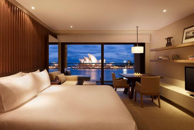 Circular Quay - Park Hyatt Sydney - The coveted location of this hotel – situated smack-bang between the Sydney Opera House and Harbour Bridge – says it all, really. Park Hyatt Sydney boasts exclusive front views of the world-famous Opera House, which you can enjoy it to accompany you to your crib.