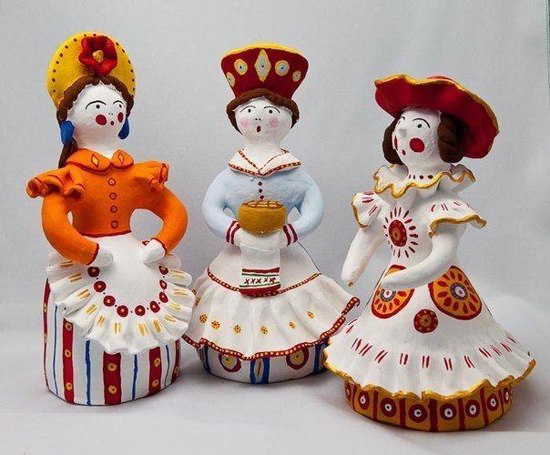 Дымковская игрушка: 18 тыс изображений найдено в Яндекс.Картинках