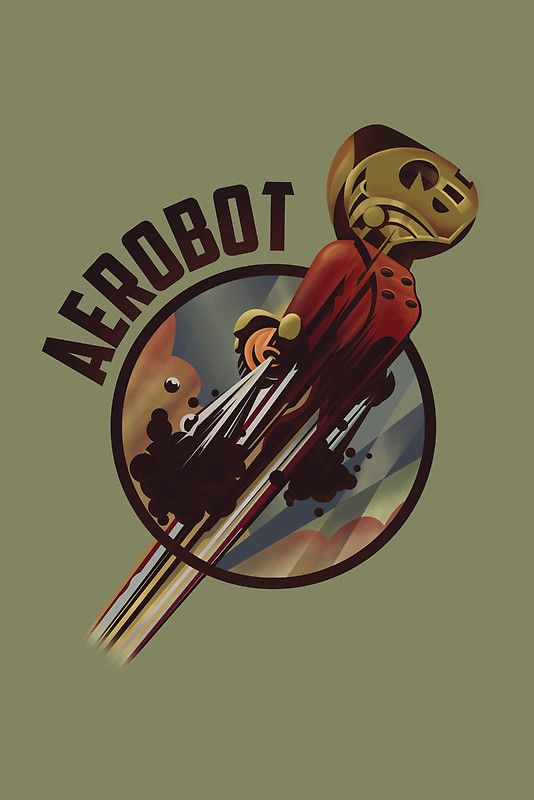 Redbubble | The Rocketeer | Pinterest