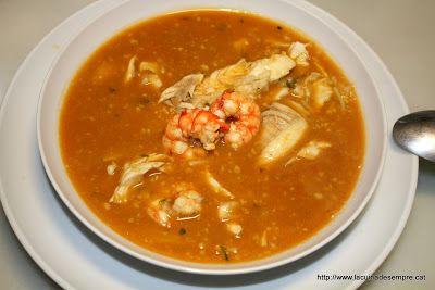 Gastronomia catalana: sopa de pescadors