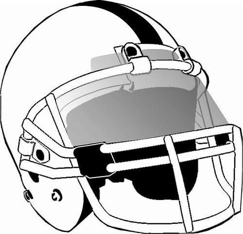 football helmet with visor vector illustration. | graphic design