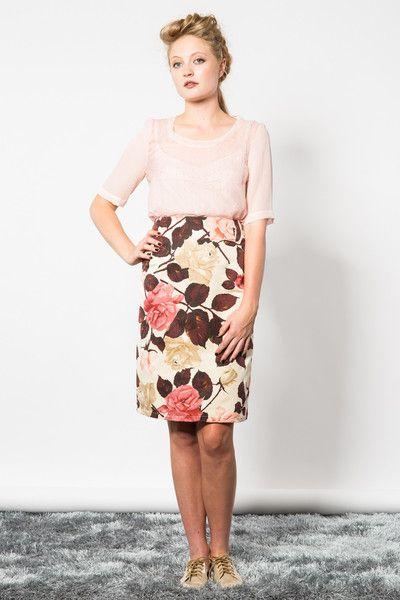 Affair of the Rose Skirt