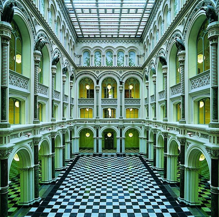 The beautiful architectural halls in the former Zoological Museum in #Copenhagen.  #ScanAdvetures