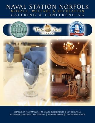 Naval Station Norfolk MWR Catering & Conferencing  Whether you are planning a wedding, conference, or a social gathering, MWR's professonal Caering Sales Specialists are eager to help create the perfect event for you.