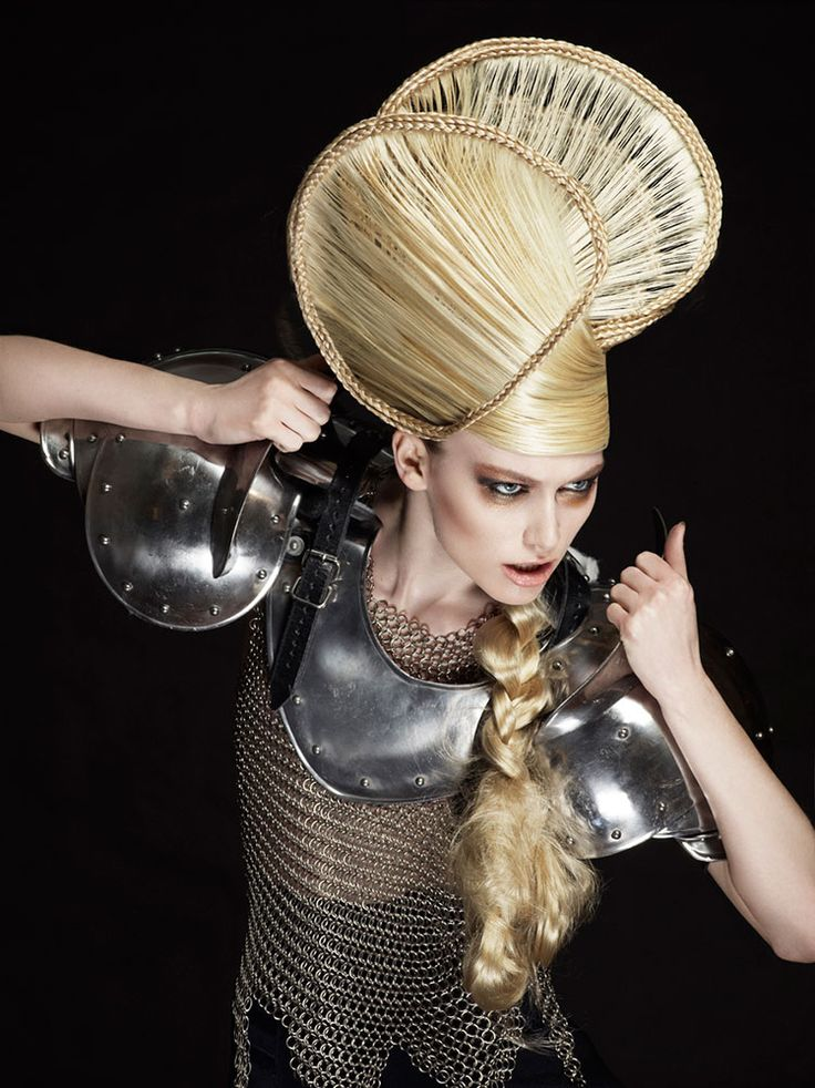 hairdo updo hairstyle artistic spectacular modern avantgarde avant garde meets arabic