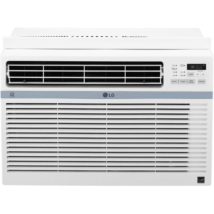 8,000 BTU Energy Star Window Air Conditioner with Remote