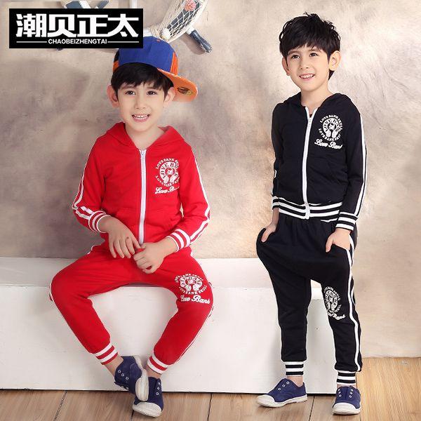 Мода марка 2015 детская одежда дети костюмы костюм мальчиков толстовки + брюки насыщенный синий и красный спортивный костюм бейсбол одежда комплект школьная форма,детский спортивный костюм,новогодний костюм для ребенка
