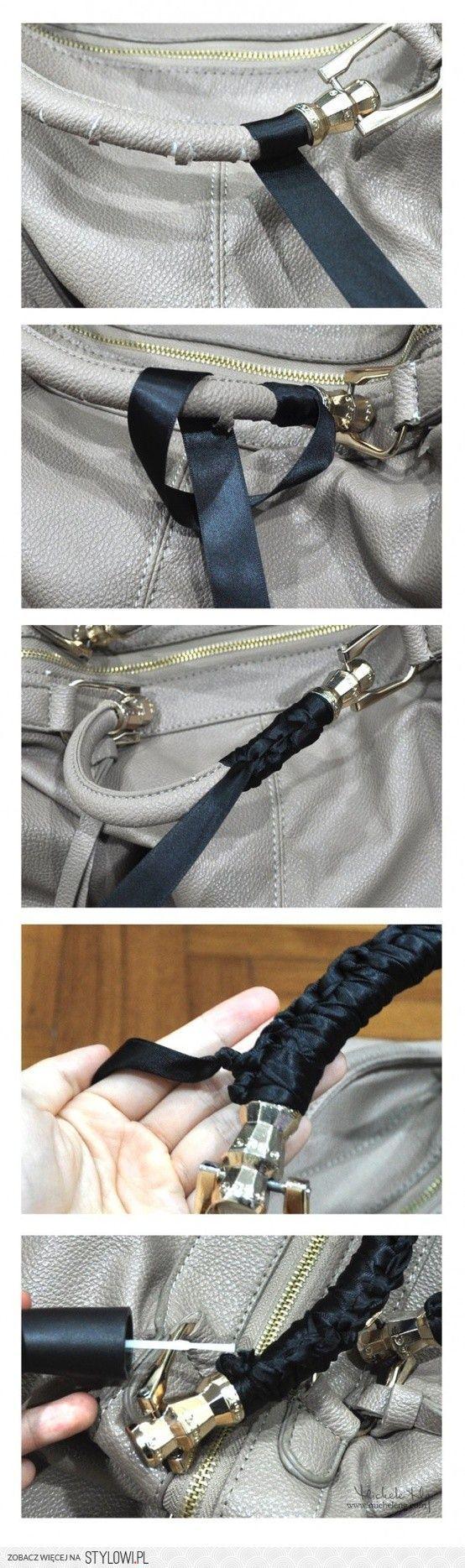 как обновить ручки у сумки