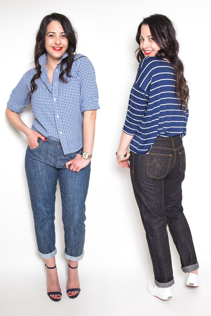 Morgan Boyfriend Jeans sewing pattern // by Closet Case Files http://closetcasefiles.com/introducing-morgan-boyfriend-jeans-pattern/