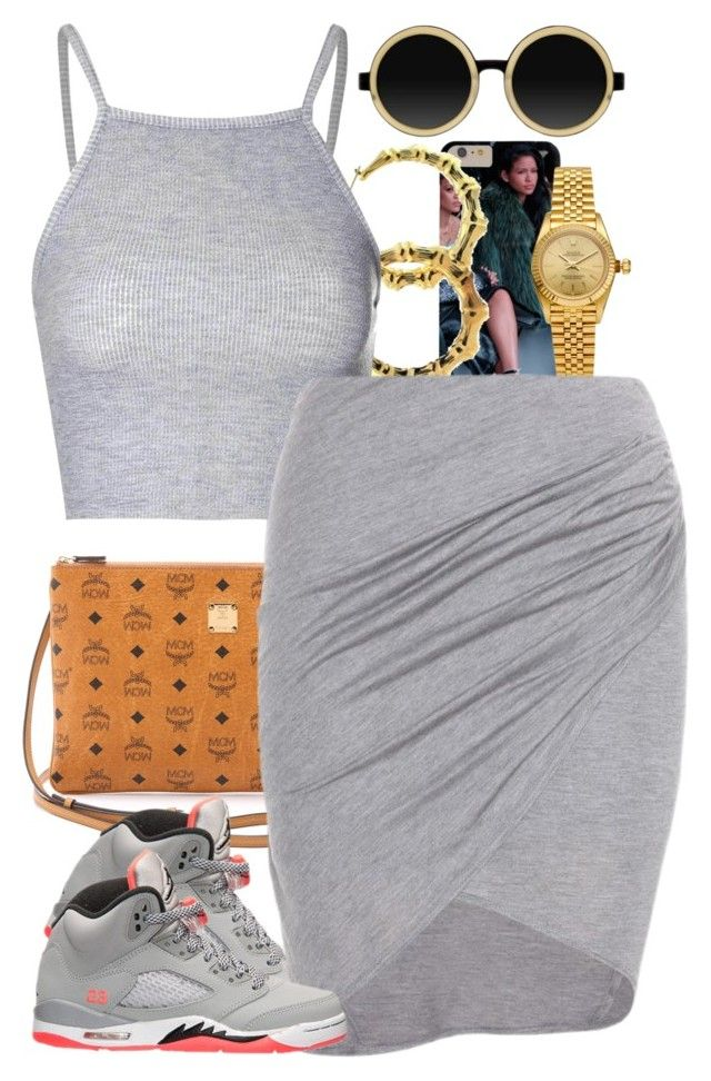"""""""Untitled #1363"""" by power-beauty ❤ liked on Polyvore featuring MCM, Fergie, Rolex, Glamorous, Helmut by Helmut Lang and Moscot"""