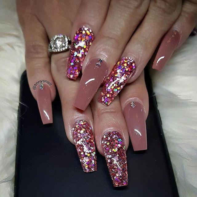 @tonysnail ・・・ Custom Nails Design Acrylic Colors Design