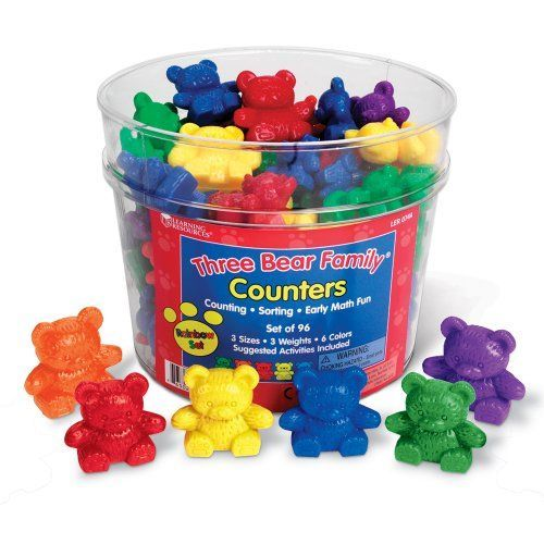 Counting bears! Tons of fun in early elementary school. #90s #00s #memories…