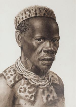 Zulu Man by  Bhengu, Gerard