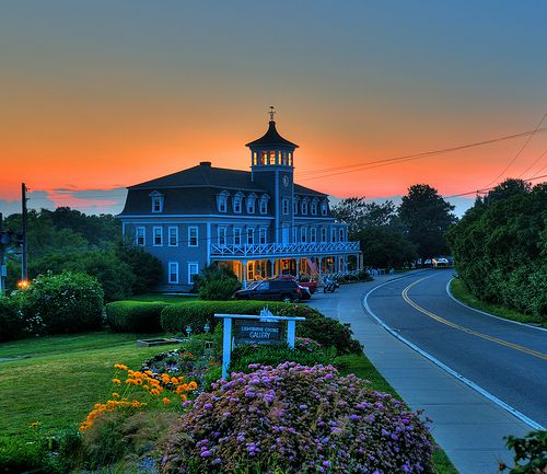 Hotel Manisses, Block Island RI (the best spot to work)