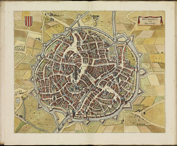 Mechelen: National Libraries, De Witness, Cartographic Frederik, Maps Book, Late 17Th, Cities Maps, Dutch Cities, Dutch Cartographic, 17Th Century Stedenboek Book