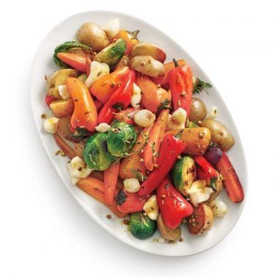 Papillote de légumes et fromage en grains - Recettes - Cuisine et nutrition - Pratico Pratique