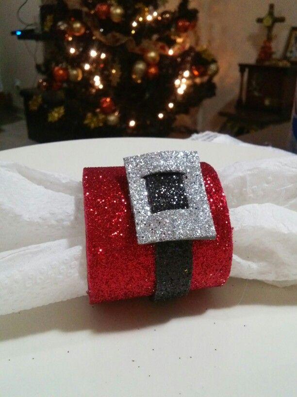 Anillo para servilletas con rollo de papel by Lety Cervantes