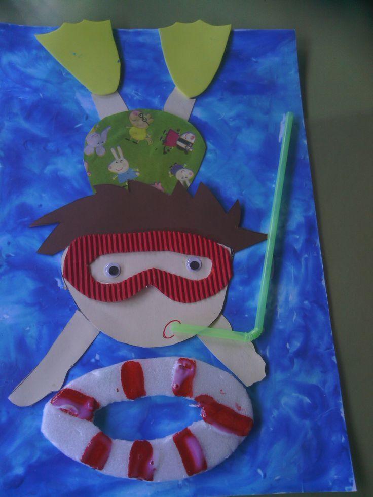 Tapa lbum final de curso portada trabajo escolar verano - Trabajos manuales de navidad para ninos de primaria ...