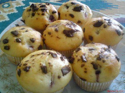 két csokis muffin