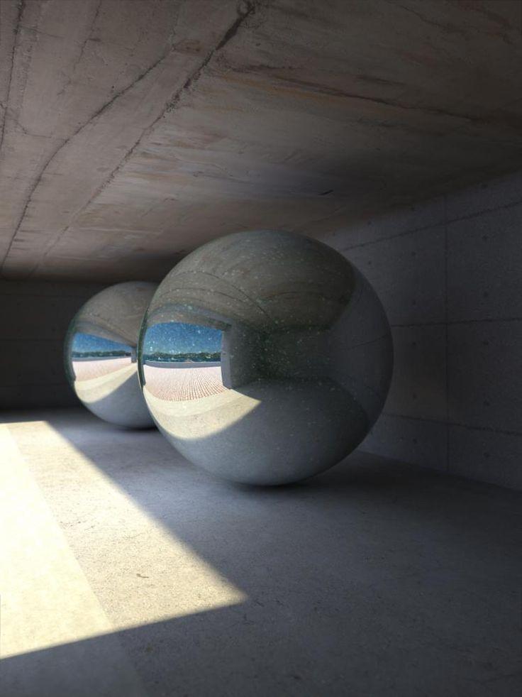 Chichu Art Museum, Naoshima Contemporary Art Island by Tadao Ando Architect
