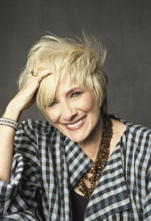 great plaid & fab necklace (Betty Buckley)
