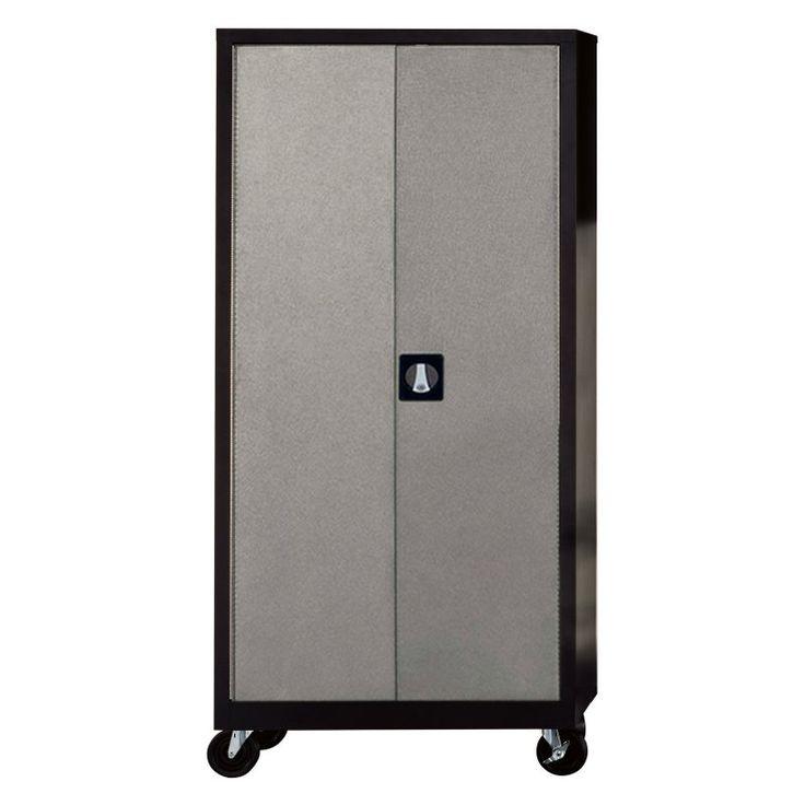 Edsal Silvervein 4 Shelf Garage Storage Cabinet - COS-SV72H