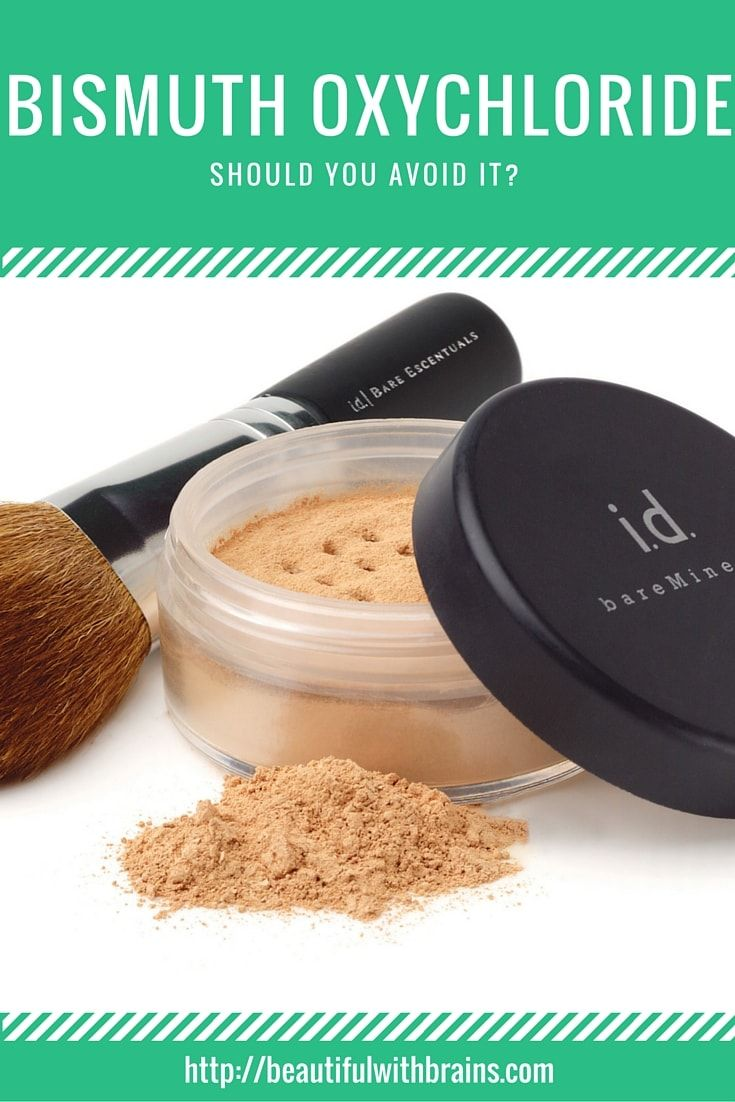 Bismuth oxychloride is very used in mineral makeup because it helps them better adhere to the skin and gives them a certain smoothness. But, lots of people find it very irritating. So, should you avoid it? Click through to find out.
