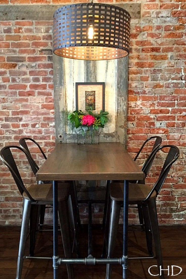 Best 25 Industrial Bar Tables Ideas On Pinterest