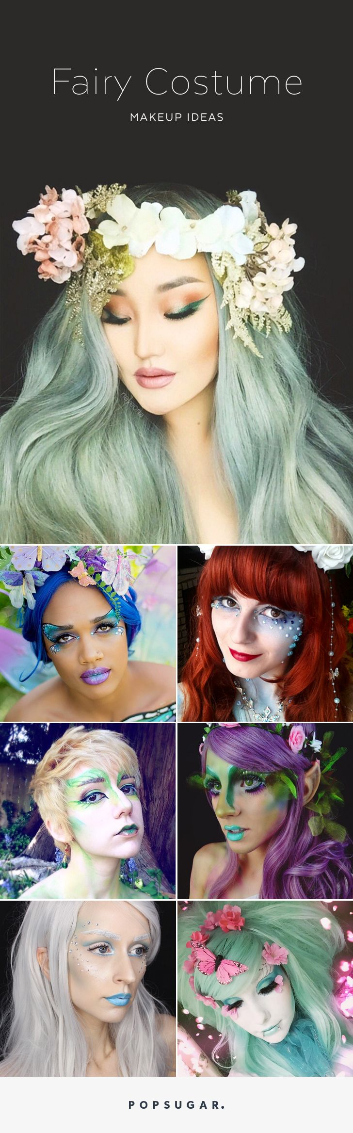 25 ethereal makeup transformations to diy your halloween fairy tale - Fairy Halloween Makeup Ideas
