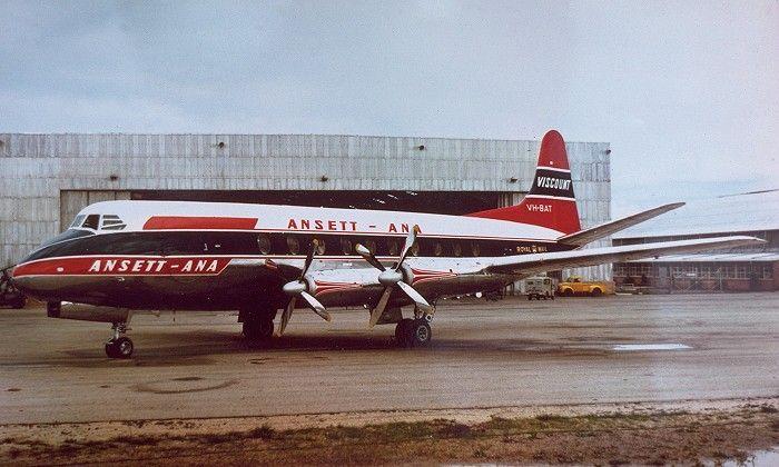 VH-BAT Vickers Viscount
