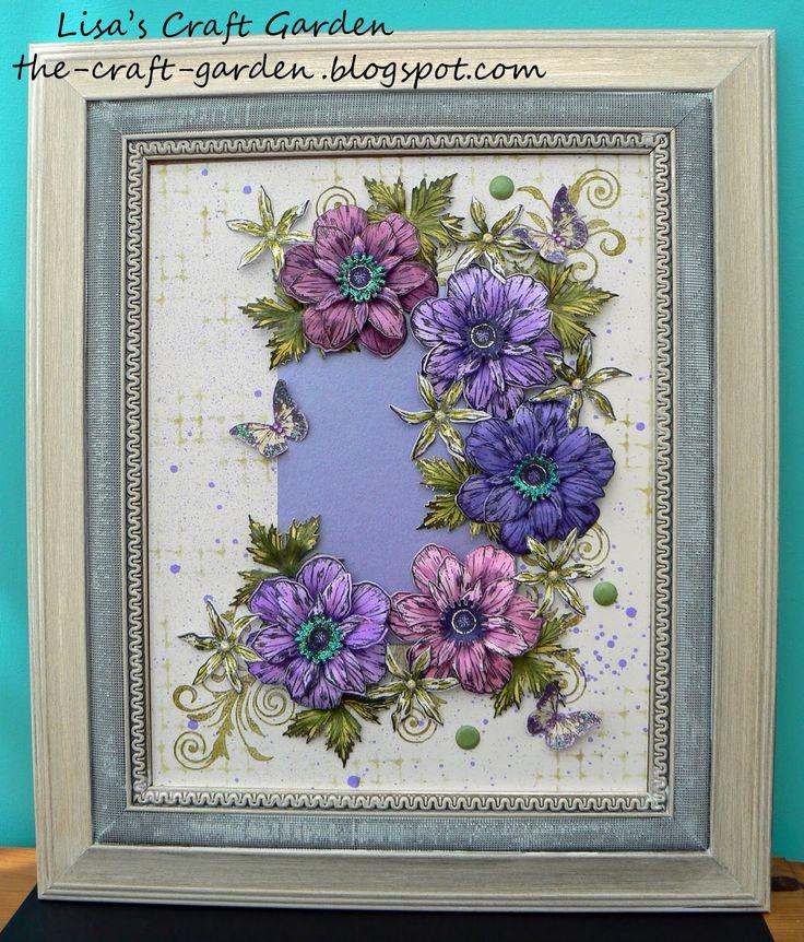 Lisa's Craft Garden: My Sheena Douglass Samples
