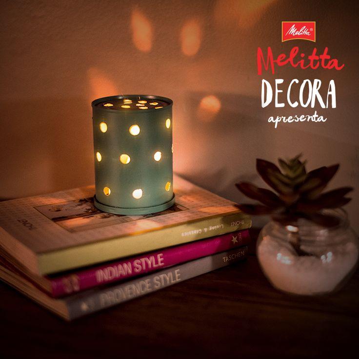 Depois de apreciar o nosso delicioso Café com Leite, você pode aproveitar a embalagem para fazer uma luminária para a sua casa! Para conferir o passo a passo, clique no link: http://glo.bo/295eqwo